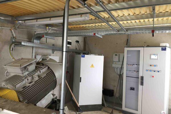 Coclea E++ Impianto idroelettrico Capoponte_Quadro