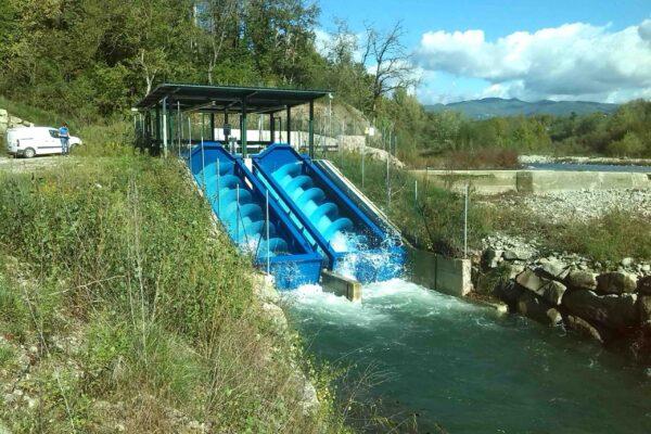 Coclea E++ Impianto idroelettrico Licciana Nardi