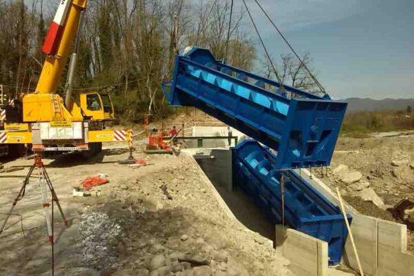 Coclea E++ Impianto idroelettrico Licciana Nardi_Posa