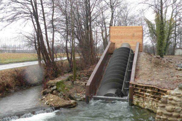 Coclea E++ Impianto idroelettrico Oglianico