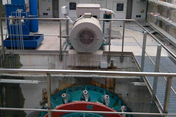 Kaplan E++ Impianto idroelettrico Giorlandina