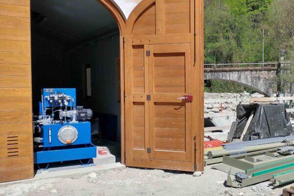 Kaplan E++ Impianto idroelettrico Robilante