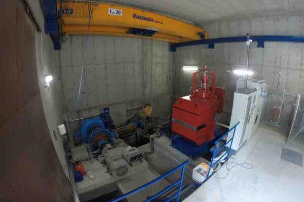 Kaplan e Francis E++ Impianto idroelettrico Periasc