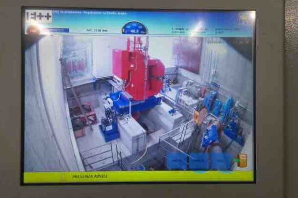 Kaplan e Francis E++ Impianto idroelettrico Periasc_Parte elettrica