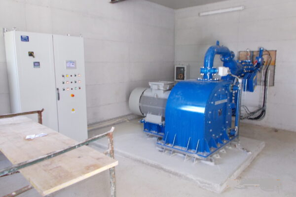Pelton E++ Impianto idroelettrico Pelton E++ Impianto idroelettrico Roccabruna