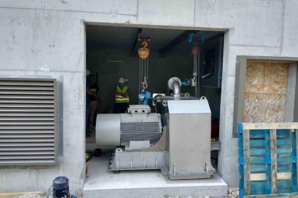 Pelton E++ Impianto idroelettrico Champoleon 3