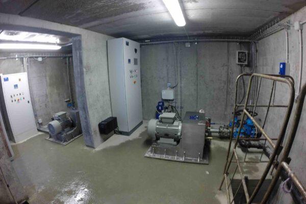 Pelton E++ Impianto idroelettrico Crest
