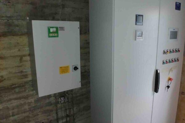 Pelton E++ Impianto idroelettrico Gordale_Quadro