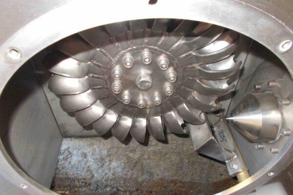 Pelton E++ Impianto idroelettrico Macra 1
