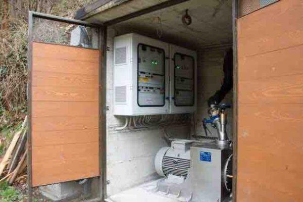 Pelton E++ Impianto idroelettrico Macra 2