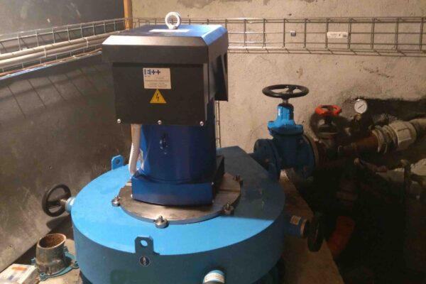 Pelton E++ Impianto idroelettrico Mulac
