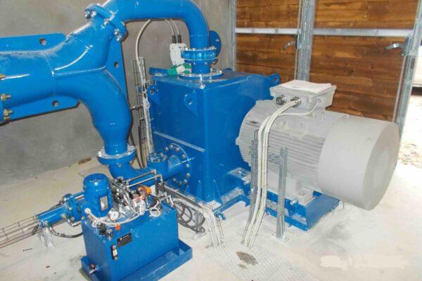 Pelton E++ Impianto idroelettrico Paglieres 2