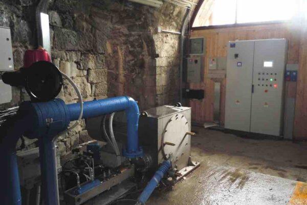 Pelton E++ Impianto idroelettrico Podio_Centrale
