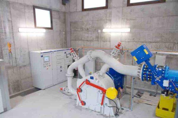 Pelton E++ Impianto idroelettrico Pontechianale 1