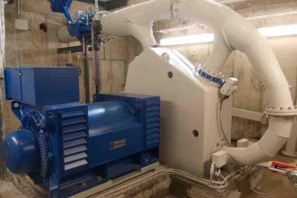 Pelton E++ Impianto idroelettrico Sampeyre
