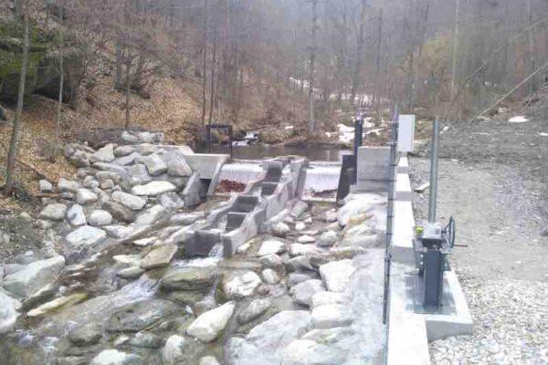 Pelton E++ Impianto idroelettrico Sampeyre_Griglia coanda