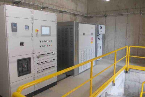 Pelton E++ Impianto idroelettrico Sampeyre_Quadri