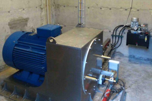 Pelton E++ Impianto idroelettrico San Bernolfo