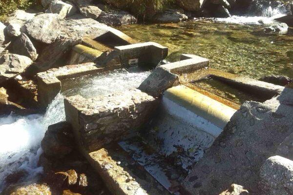 Pelton E++ Impianto idroelettrico San Bernolfo_Griglia coanda