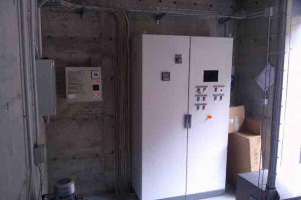 Pelton E++ Impianto idroelettrico San Bernolfo_Quadri