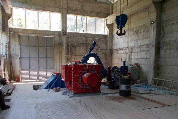 Pelton E++ Impianto idroelettrico Sangior