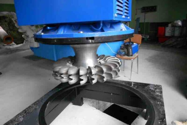 Pelton E++ Impianto idroelettrico Villar Focchiardo