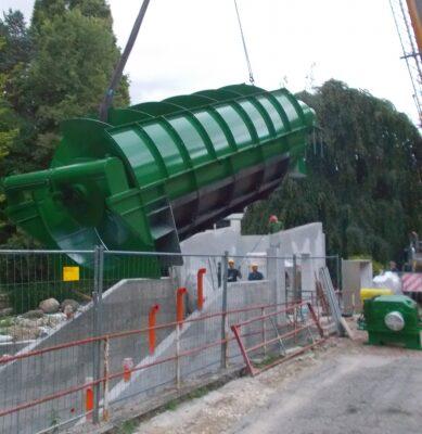 coclea e++ impianto idroelettrico bardello