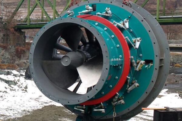 kaplan e++ impianto idroelettrico st marcel