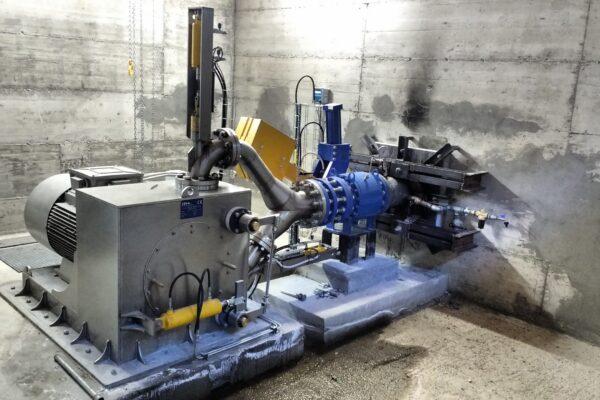 Pelton E++ Impianto idroelettrico Ceresole 1