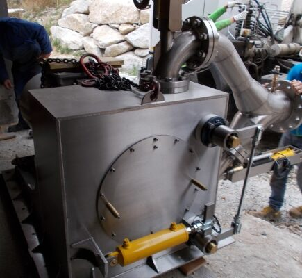 Pelton E++ Impianto idroelettrico Ceresole 3