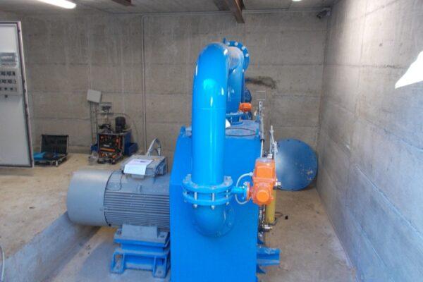 pelton e++ impianto idroelettrico capriolo