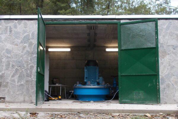 pelton e++ impianto idroelettrico cicana