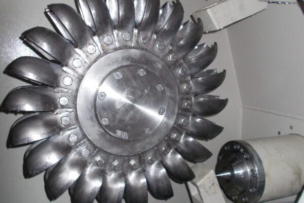pelton e++ impianto idroelettrico prevoz