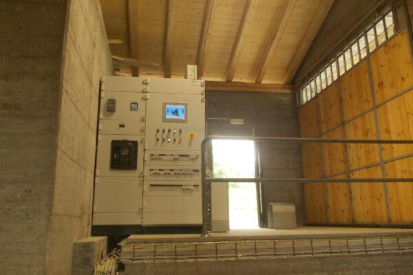Pelton E++ Impianto idroelettrico Casteldelfino 3